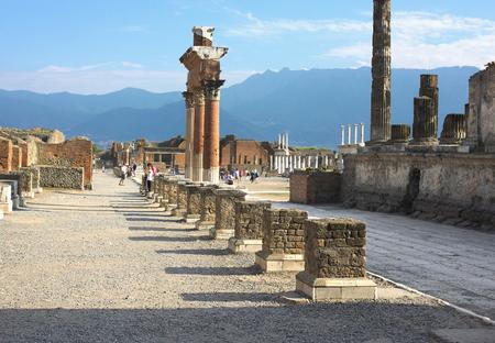 resplendence: ancient resplendence-I-Pompeii-Italy Stock Photo