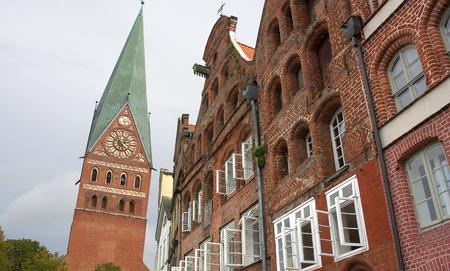 nostalgy: City view of Lueneburg I Germany