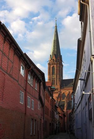 totaled: St.Johannis IV Lueneburg Stock Photo