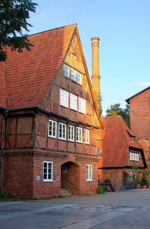 nostalgy: Half timbered house I Lueneburg