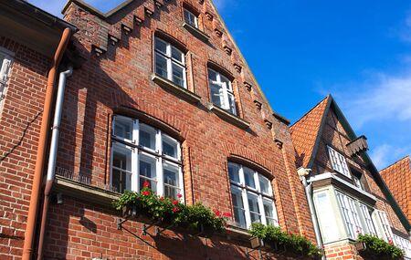 nostalgy: Old brick house II Lueneburg Editorial