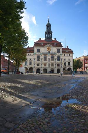 nostalgy: Historical townhall I Lueneburg-Germany