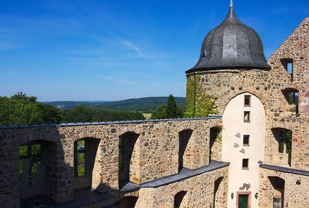 captivated: Sababurg-Dornroeschenschloss-I- Stock Photo