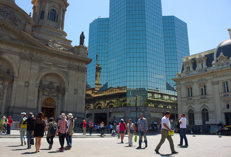 southamerica: Santiago de Chile - Plaza de Armas - IV -