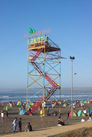 Valparaiso Beach - Chile - III - Redakční