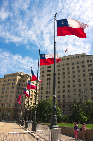 Santiago de Chile - Presidential Palace -VI - Editorial