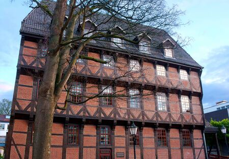 Hamelin - helped timbered house - I -