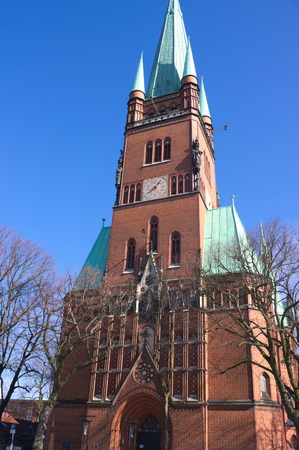 St. Johns Cathedral, Germany Stock Photo