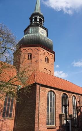 St.Cosmae-church-I Stade Stok Fotoğraf