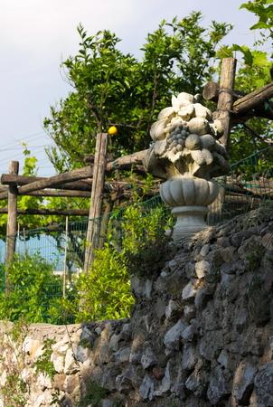 old gardens capri italy