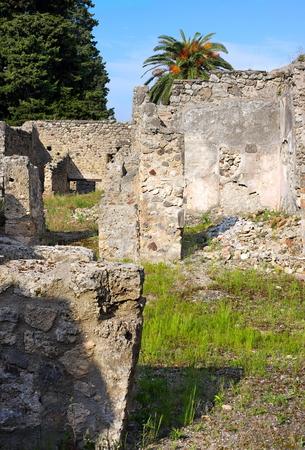 Backyards of Pompeii -X- Italy
