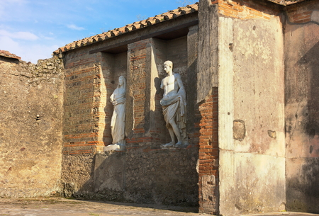Ancient sculptures - I - Pompeii - Italy
