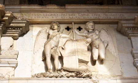 Mural relief - Castel Nuovo-Naples