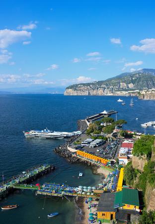 Coastal view on Sorrento - V - Campania - Italy