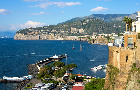 Coastal view on Sorrento - I - Campania - Italy