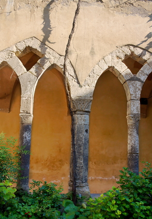 Monastery San Francesco-II-Sorrento-Italy Stock Photo