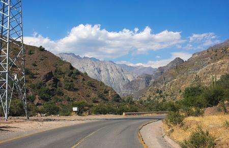 Cajon del Maipo - on the road - II - Chile