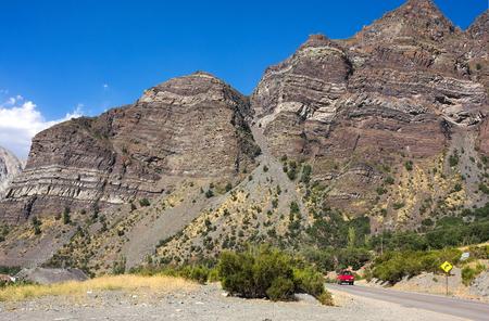 Cajon del Maipo - on the road - III - Chile