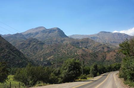 Cajon del Maipo - on the road - I - Chile