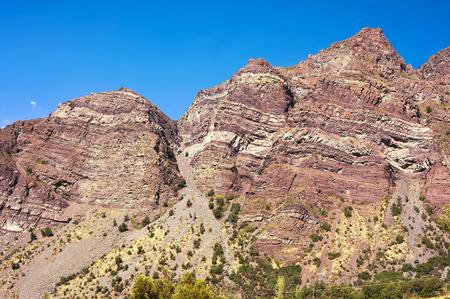 Cajon del Maipo - Canyon - XII - Chile Stock Photo