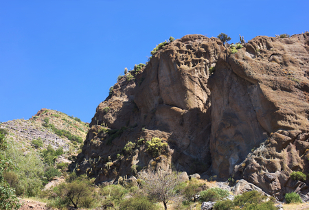Cajon del Maipo rock formation - II - Chile