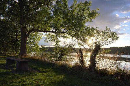 Lake at castle Gottorf - I - Schleswig -