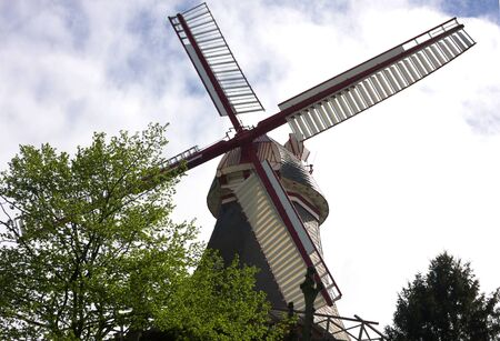 Bremen - windmill at ramparts - II -