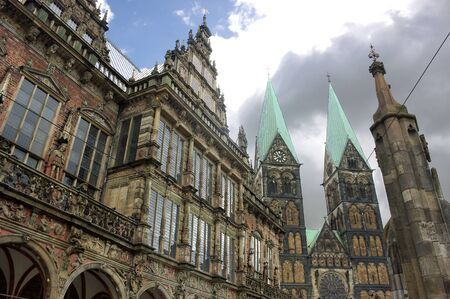 Bremen - Town Hall and Cathedral - I -
