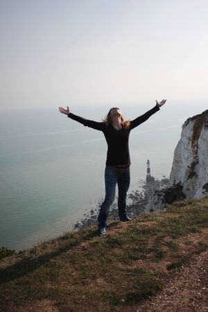 Eastbourne - Beachy Head - lighthouse - I -