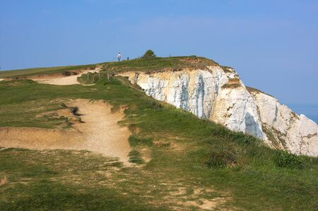 Eastbourne - Beachy Head - on top - VIII - Reklamní fotografie