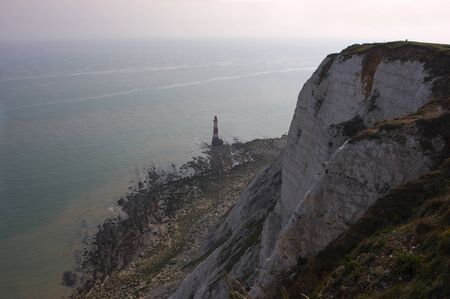 Eastbourne - Beachy Head - lighthouse - VII - Reklamní fotografie