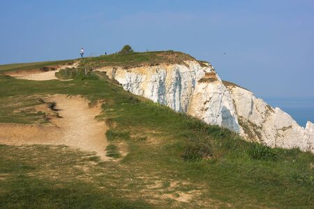 Eastbourne - Beachy Head - on top - II -