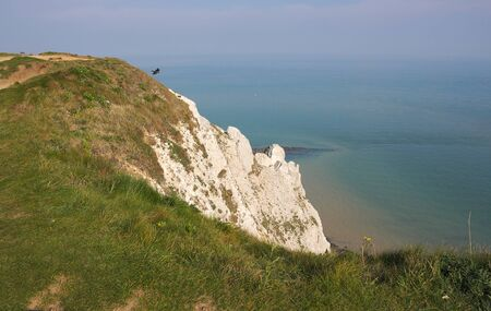 Eastbourne - Beachy Head - on top - V - Reklamní fotografie