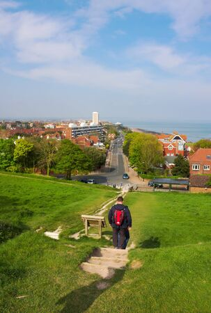 Eastbourne - view from Beachy Head - II -