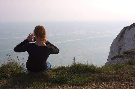 Eastbourne - Beachy Head - lighthouse - VIII -