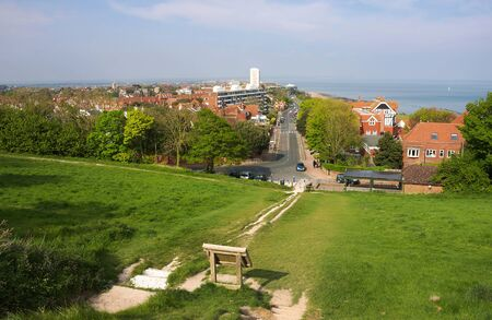 Eastbourne - view from Beachy Head - I -