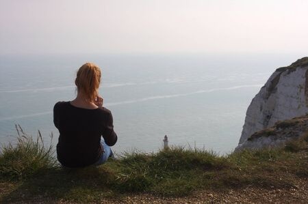 Eastbourne - Beachy Head - lighthouse - V -