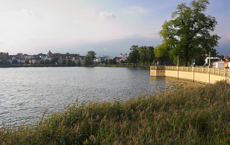 Lake at Schwerin Castle - II - Redakční