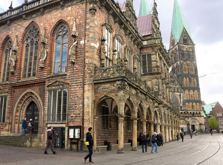 Bremen - Town Hall and Cathedral - IV - Redakční