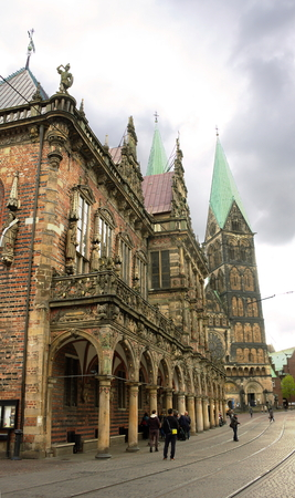 Bremen - Town Hall and Cathedral - III -