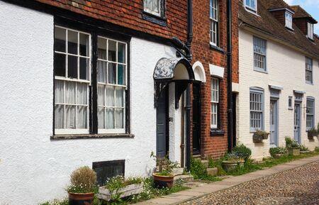 Rye-traditional facades - I - UK Фото со стока