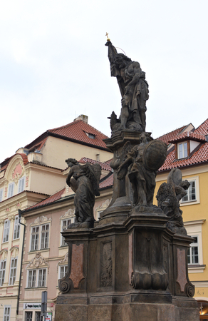 Statue- Old Royal Post - Prague
