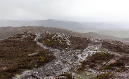 Rothiemurchus - hiking hill trail - I - Scotland