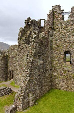 Kilchurn Castle - interior views - III - Scotland