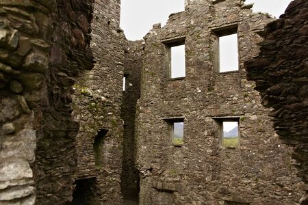 Kilchurn Castle - interior views - I - Scotland