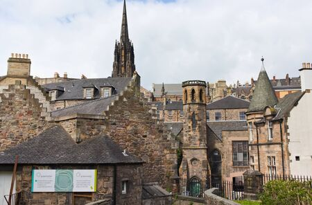 Greyfriars kirkyard - entrance - I - Edinburgh Editöryel