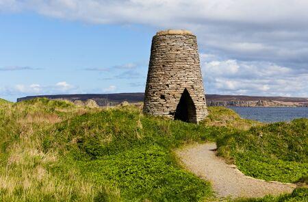 The flagstone trail - windmill - Castletown - Scotland