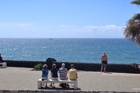 Beautiful Island Lanzarote on the Canaries