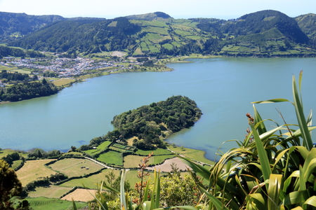 Beautiful Island at the Azores (Portugal).