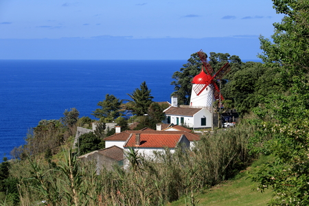 Beautiful Isla Sao Miguel at the Azores (Portugal)